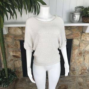 New York & Company Batwing Knit Sweater XS